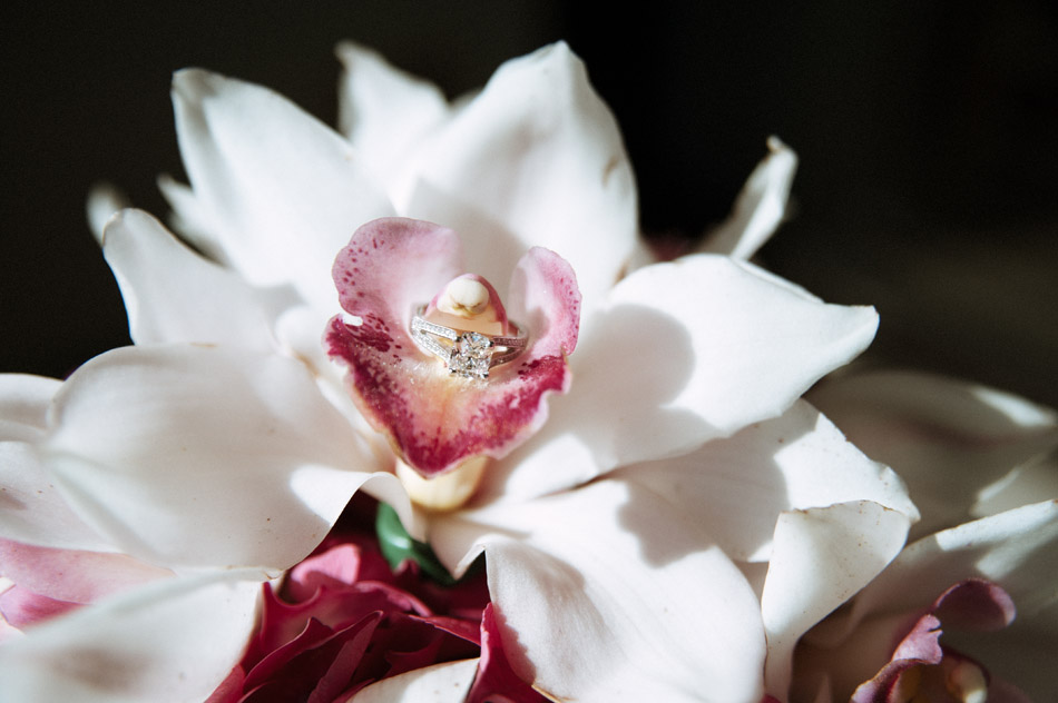 Engagement Ring in Orchid