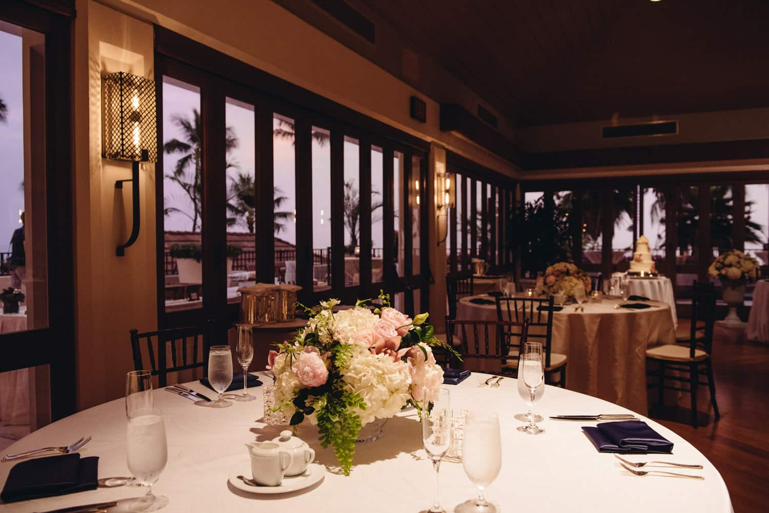 Hau Terrace Interior with Wedding Decor